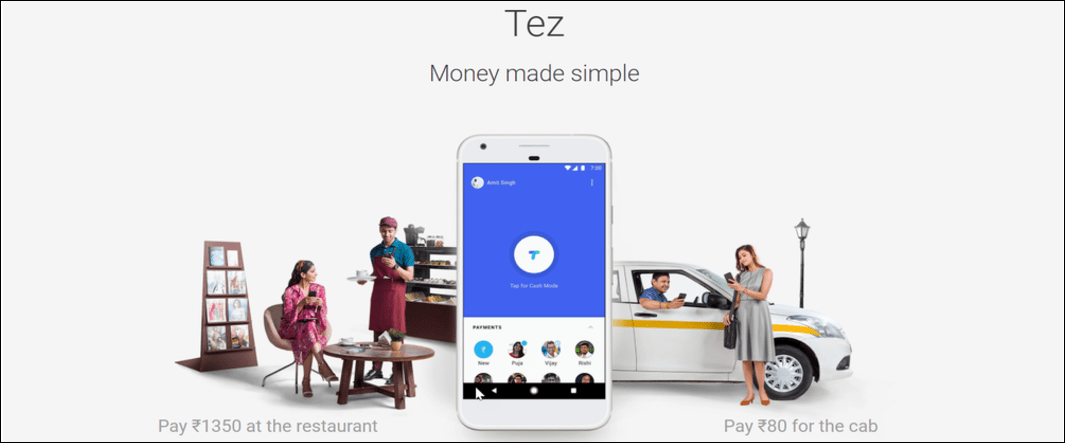 Tez, A New Mobile Payment App from Google to India