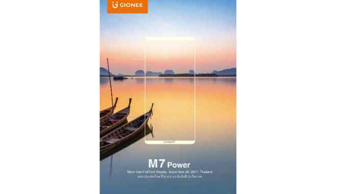 Gionee M7 Power in india