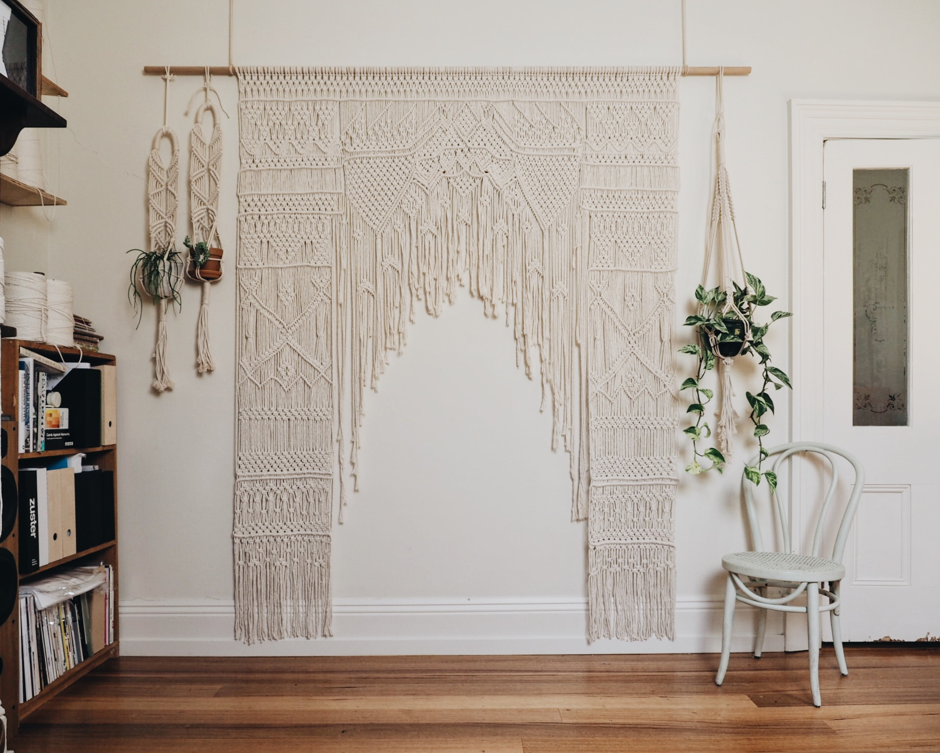 Melbourne Macrame Wedding Arch Hire Workshops The Middle Aisle Maggie May