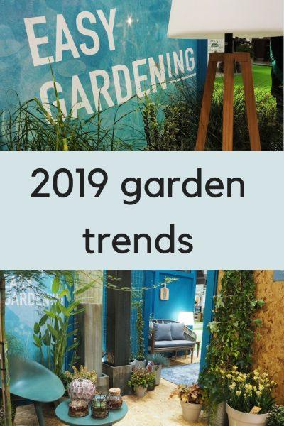 top 2019 garden trends