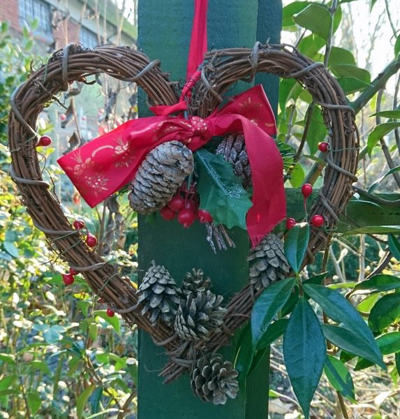Christmas garden decorations