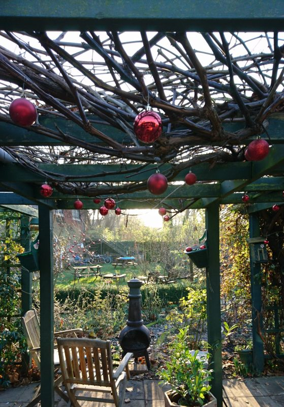 Christmas garden decorations