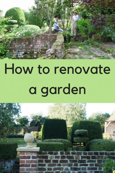 How to renovate a garden without losing its magic  The
