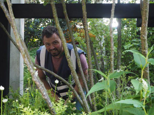 Garden designer Paul Hervey-Brookes