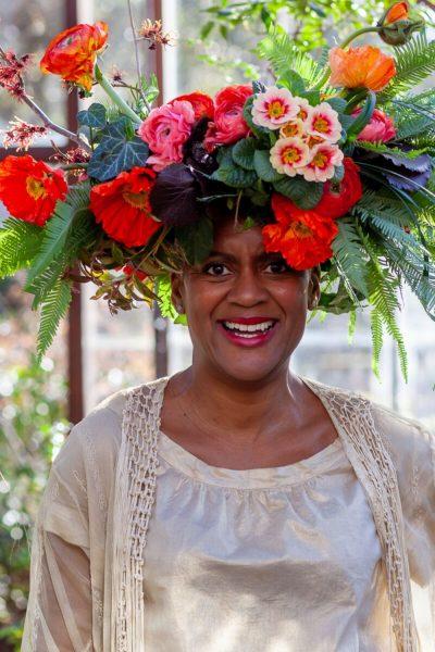 Arit Anderson flower crown