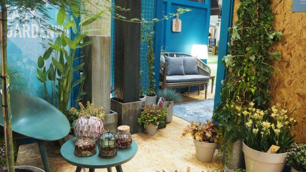 outdoor room and indoor garden
