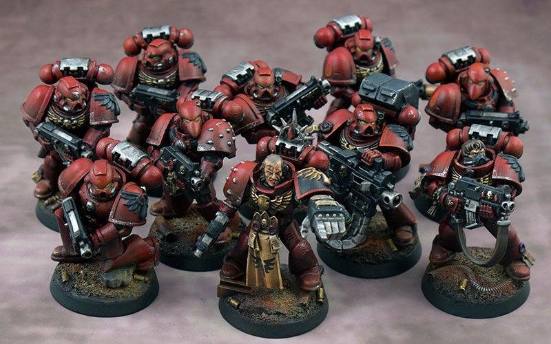 Blood Angels Tactical Squad Lazarus