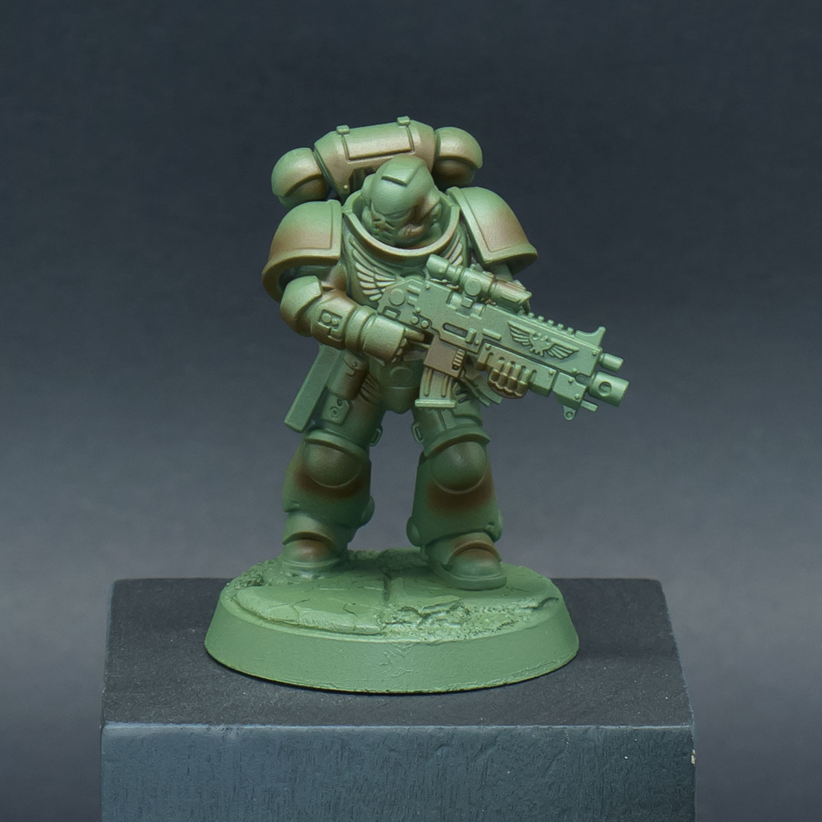 How to paint Raptors Space Marines - Step 2