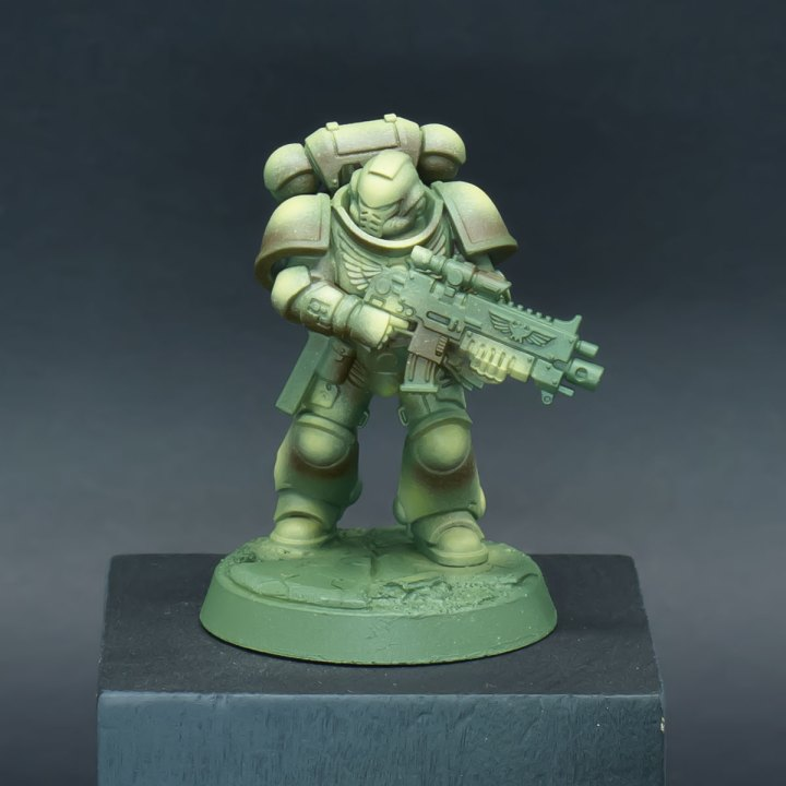 How to paint Raptors Space Marines - Step 4a