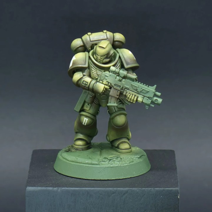How to paint Raptors Space Marines - Step 6a