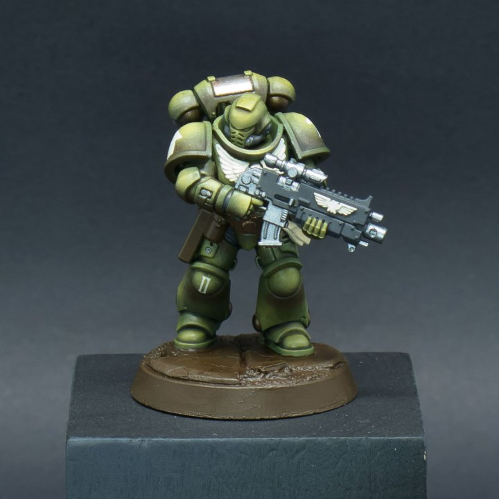 How to paint Raptors Space Marines - Step 7a