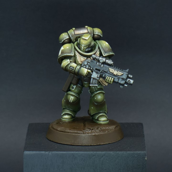 How to paint Raptors Space Marines - Step 10a