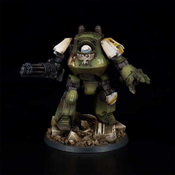 Raptors Contemptor Dreadnought 34