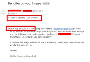 2019-08-24 12_51_34-Re_ offer on your house - jerryll@webuyhousesinconnecticut.com - Noorden Estates