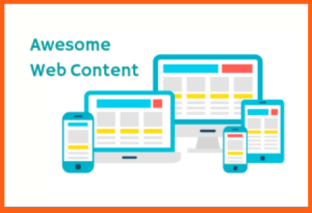 Awesome web content sets is a key part of an awesome freelance website