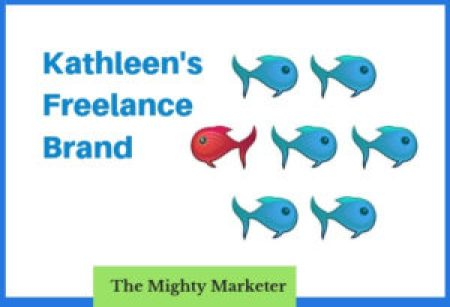 Raise awareness of your freelance services with your brand