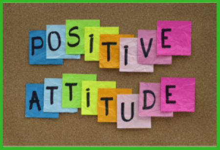 Freelancers need a positiive attitude.