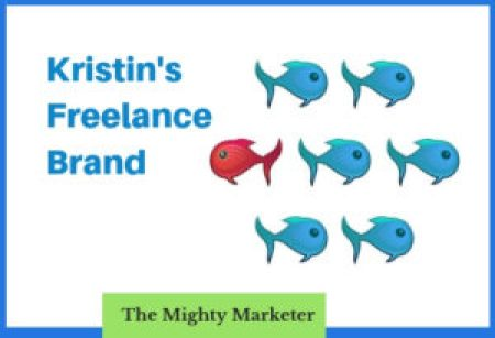 Learn how Kristin Harper uses her freelance brand to show she's a professional.