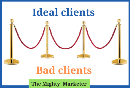 A red velvet rope policy lets freelancers choose ideal clients