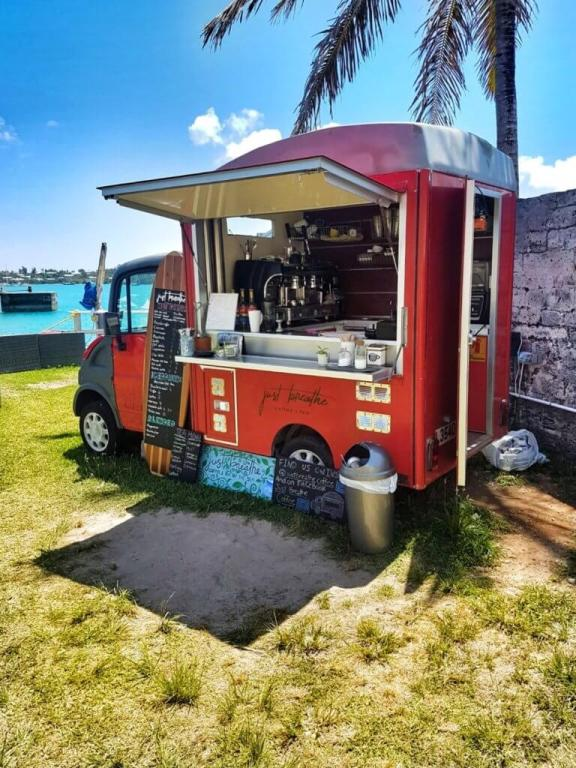 Just Breathe Coffee Truck in St. George's, Bermuda