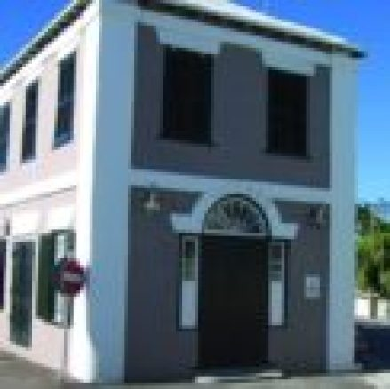 Image of the outer facade of the Bermuda Heritage Museum in St. GEorge's, Bermuda