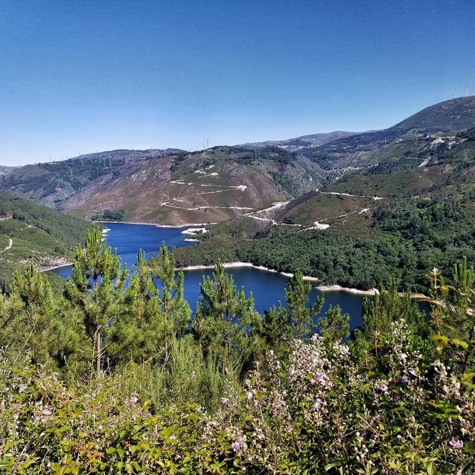 Overlooking a river while hiking Peneda-Geres