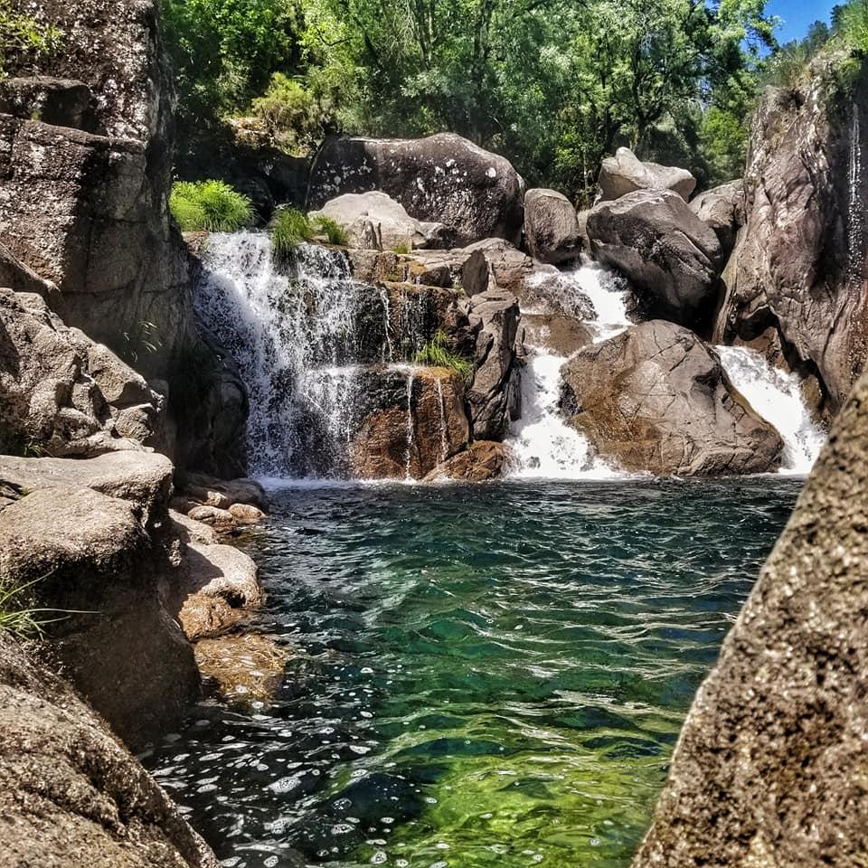 Waterfalls in Peneda-Gerês National Park