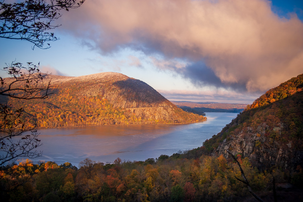 Hudson Valley in New York, a relaxing getaway from the big city.