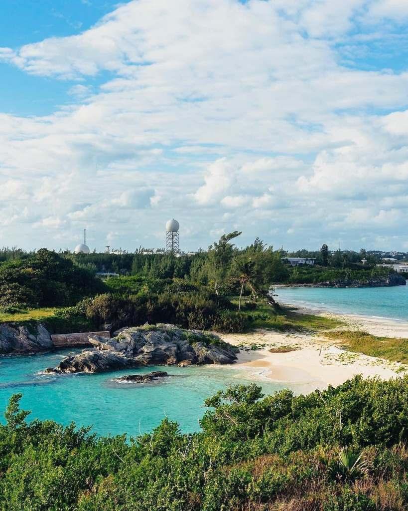 Cooper's Island National Reserve in Bermuda