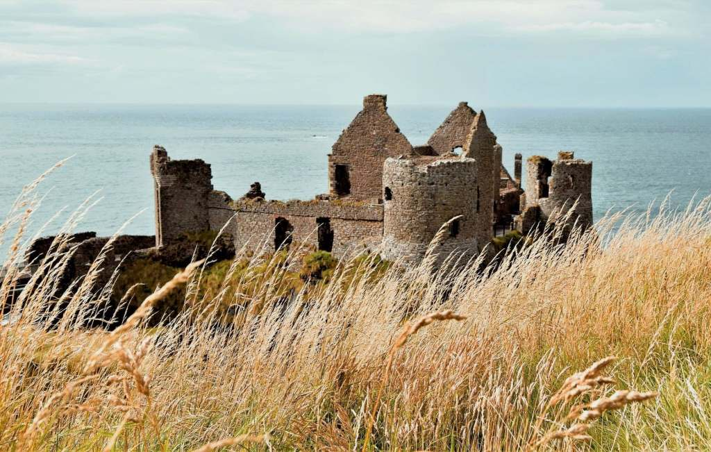 Irish Castle by the seaside