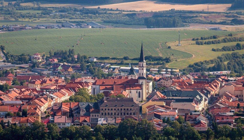 Panorama of Levoca Slovakia