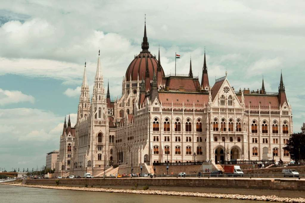 Parliament building in Budapest, one of the most beautiful things to see in Budapest.