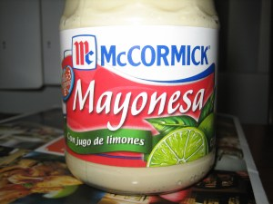 Mayonesa de limon