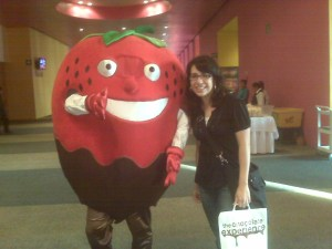 Me n' the strawberry