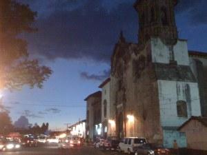 Patzcuaro at night fall