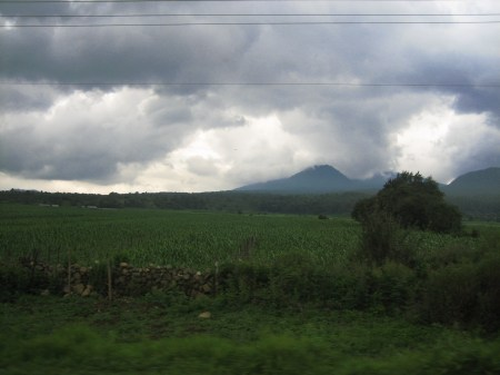 Patzcuaro sky