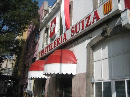 Pasteleria Suiza in Colonia Condesa, Mexico City