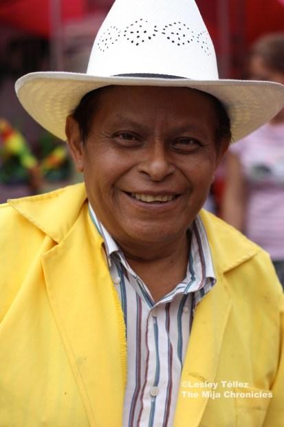 Mexico City tianguis vendor