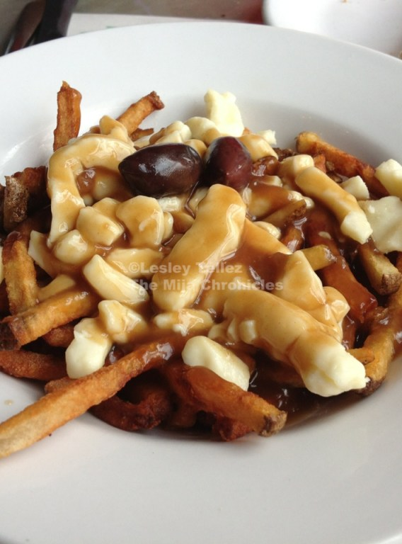 Poutine -- french fries with cheese curds and gravy -- from Patati Patata in Montreal.