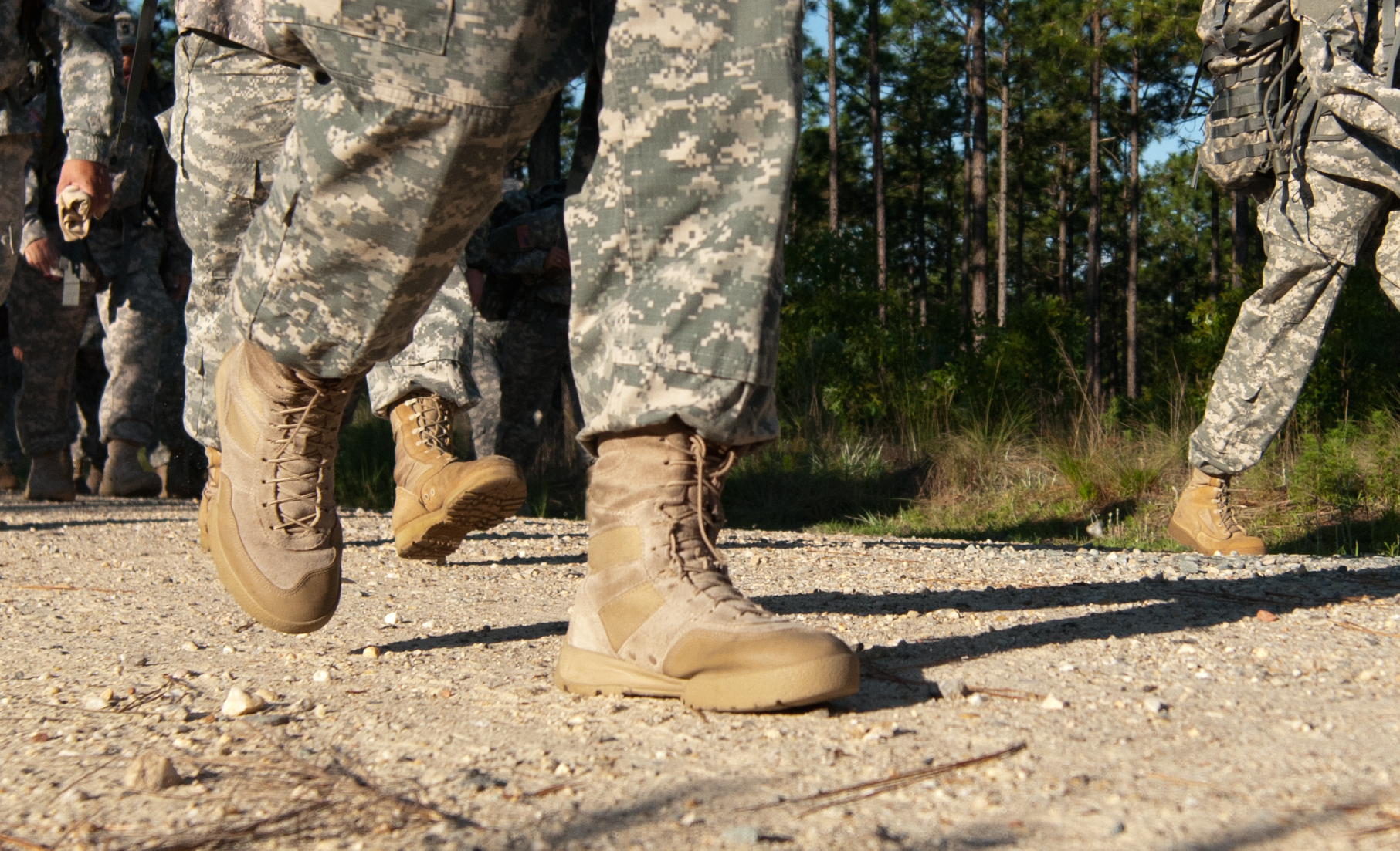 The Secret to a Blister,free Foot March , The Military Leader