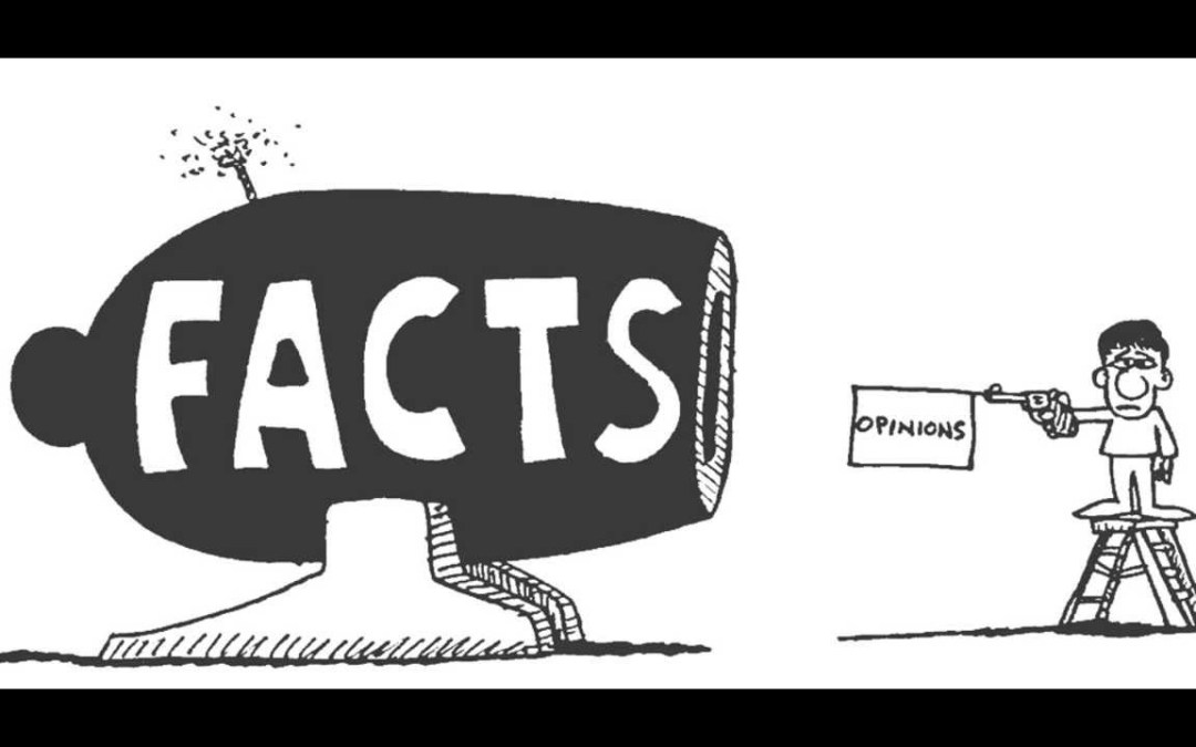 Facts vs. Opinions… There is Definitely a Difference