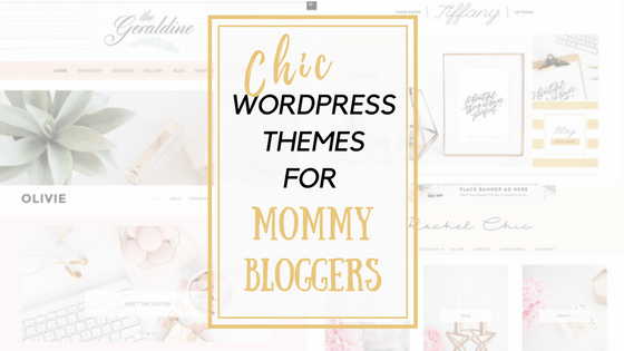 chic wordpress themes the millennial stay at home mom