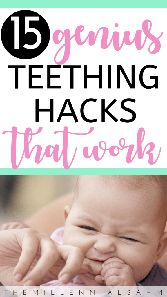 Looking to provide your little one with relief from their teething pain the natural way? Check out these 15 natural teething remedies that actually work. #teething #naturalteethingremedies #breastmilkpopsicles #babies