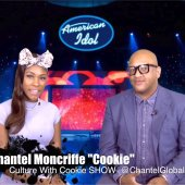 Culture With Cookie SHOW, Shantel Moncriffe, Interviewing an American Idole Participant, Season 1 Episode 2.