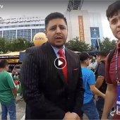 Cobertura en Vivo estadio NRG Houston Texas, CONCACAF Copa Oro, en el Fiesta Futbol antes del partido de Mexico vs Costa Rica, con nuestro Patrocinador el Abogado Alan Garcia… S1C10