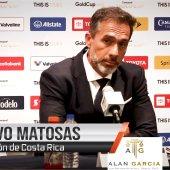 Al final del duelo el Tecnico de Costa Rica, Gustavo Matosas hizo declaraciones sobre el accional de su equipo y sobre la Seleccion de México… S1C13