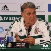 Conferencia de prensa con Gerardo Martino, director técnico de la selección Mexicana, luego de su derrota ante Argentina 4-0