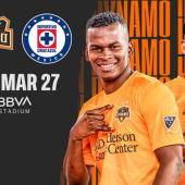 Houston Dynamo recibirá a Cruz Azul el 27 de marzo