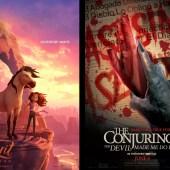 llegarán a los cines este viernes 4 de junio, Spirit Untamed y The Conjuring: The Devil Made Me Do It…