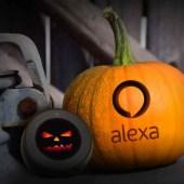 La decoración de Halloween con ALEXA…
